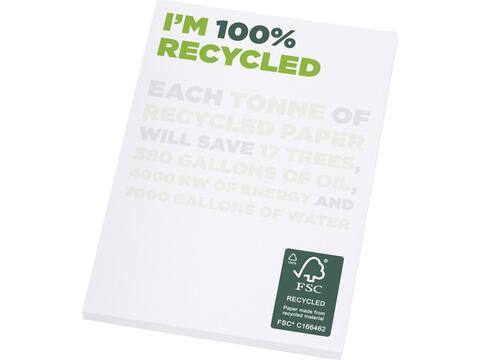 Bloc-notes A7 recyclé Desk-Mate®