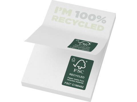 Sticky-Mate® recycled sticky notes 50 x 75 mm