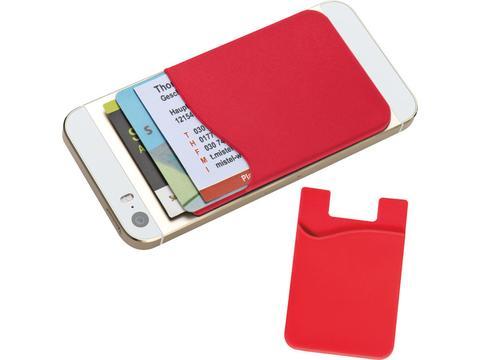 Siliconen kaarthouder voor GSM