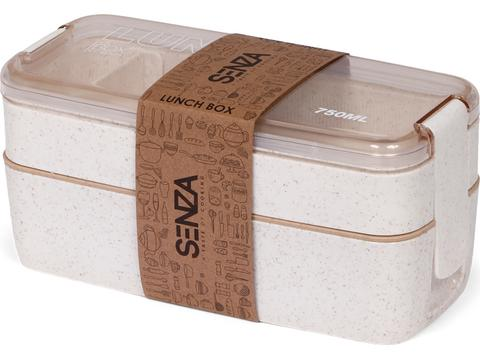 SENZA wheatstraw bento box