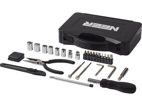 28-piece tool box