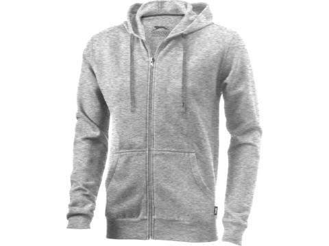 Sweater capuche full zip Open