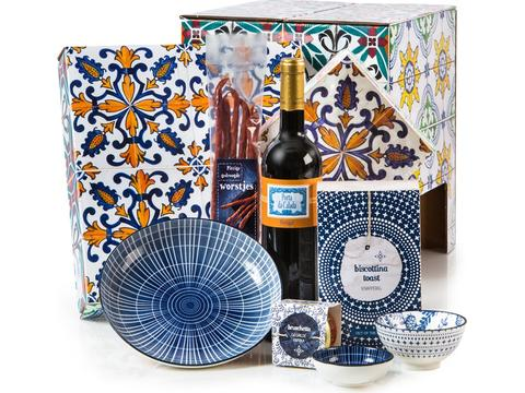 Christmas gift package Azulejo