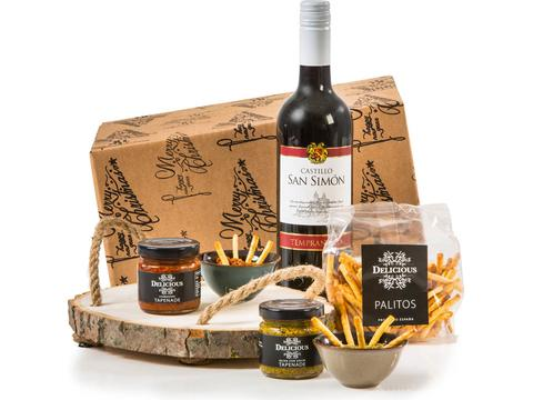 Christmas gift package Tapas