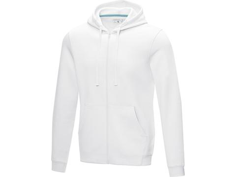Ruby men's GOTS organic GRS recycled full zip hoodie