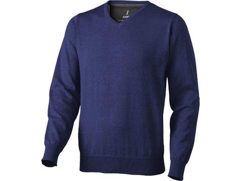 Pullover Col V Spruce