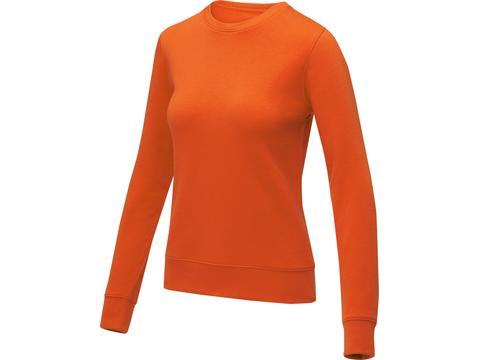 Zenon dames sweater met ronde hals