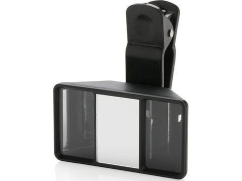 Universal 3D camera lens