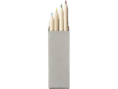 4-delige kleurpotloden set
