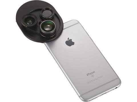 4-in-1 Revolving Camera Lens Set