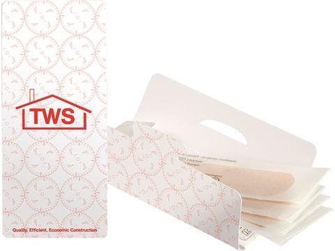 4 plasters in envelope