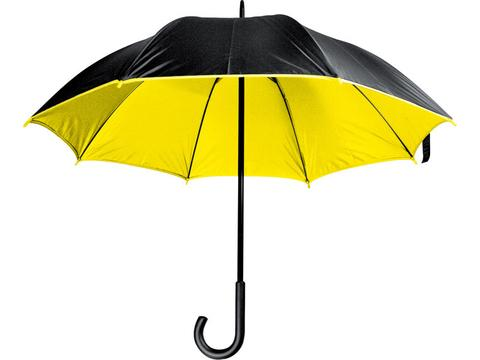 Paraplu met gekleurde binnenzijde - Ø102 cm