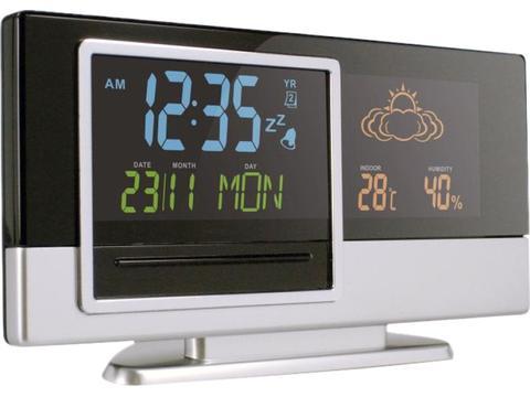 Weerstation met gekleurd LCD scherm