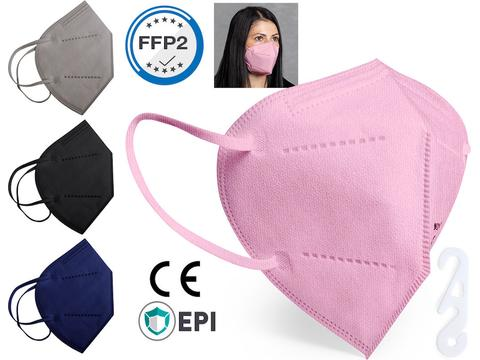 Self-filtering FFP2 protection mask