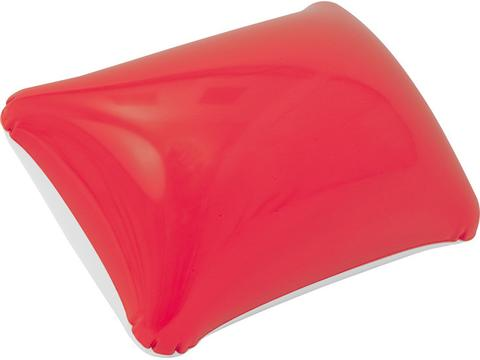 Coussin gonflable bicolore