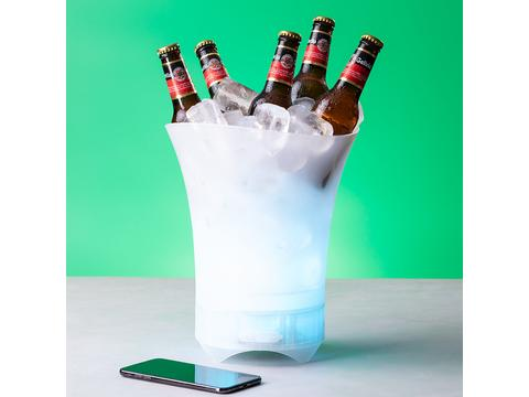 Smart Led luidspreker ijsemmer