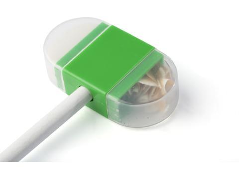 Puntenslijper met gum