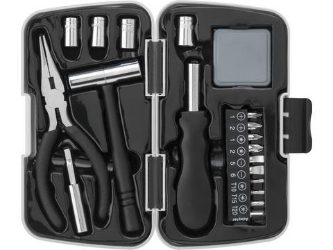 26pcs aluminium and metal toolset