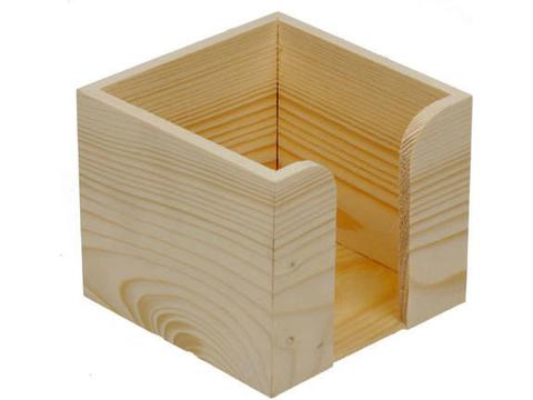 Houten papierbox