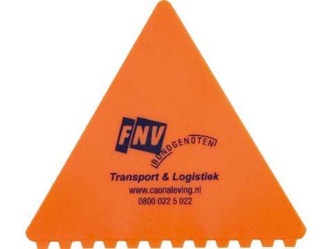 Ice scraper triangle