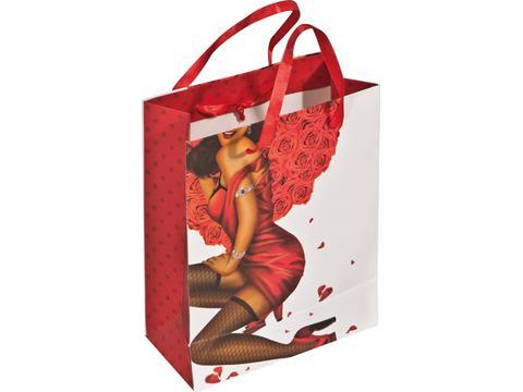 Geschenk verpakking vrouw
