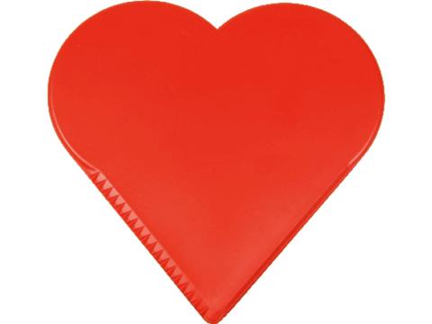 Ice scraper heart
