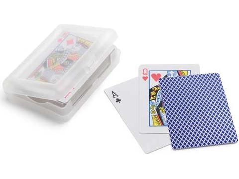 Cartes a jouer dans boite