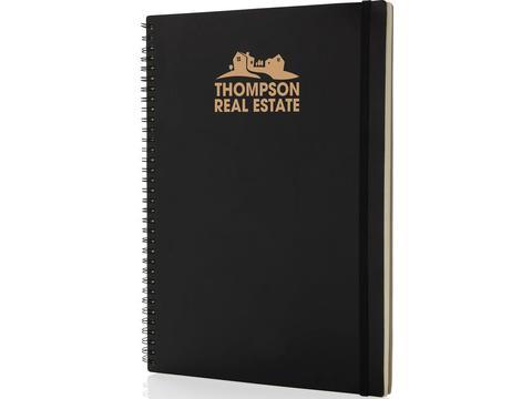 A4 Deluxe notitieboek met spiraal