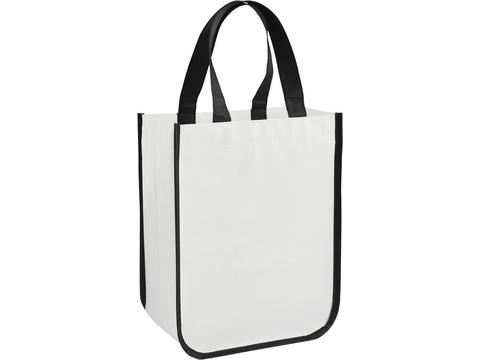 Acolla Small Laminated Shopper Tote