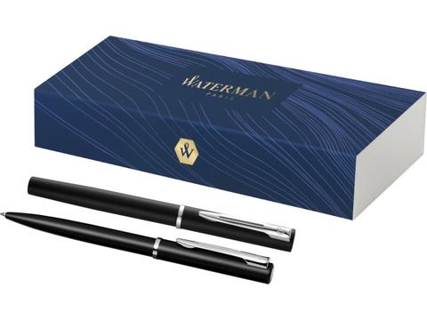 Allure ballpoint and rollerball pen set
