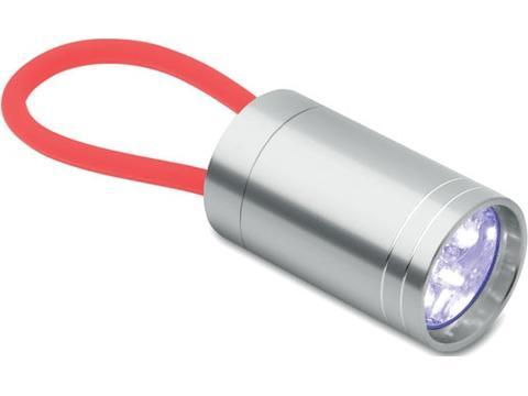 Aluminium torch glow in dark