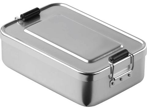 Aluminium lunchbox 17 x 11,7 x 5 cm