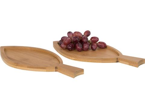 2-piece Bamboo Amuse set Fish