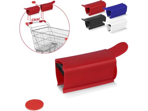 Anti-bacterial Shopping Trolley Clip