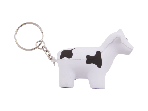 Anti-stress Cow key-ring