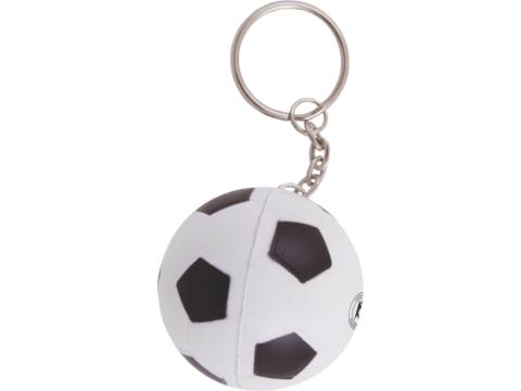 Anti-stress voetbal sleutelhanger