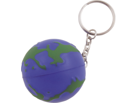 Anti-stress Worldglobe key-ring