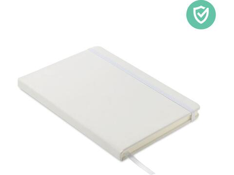A5 antibacterial notebook lined
