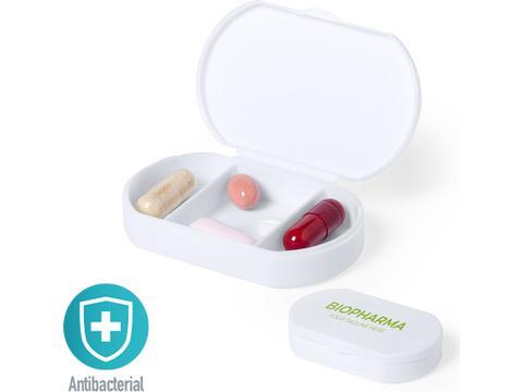 Antibacterial pill box