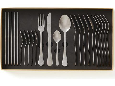 Antique Cutlery Set 24 Pieces