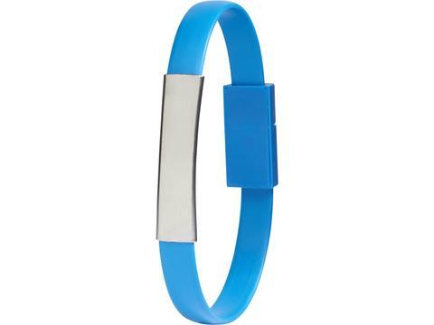 Bracelet câble de chargement 2 en 1