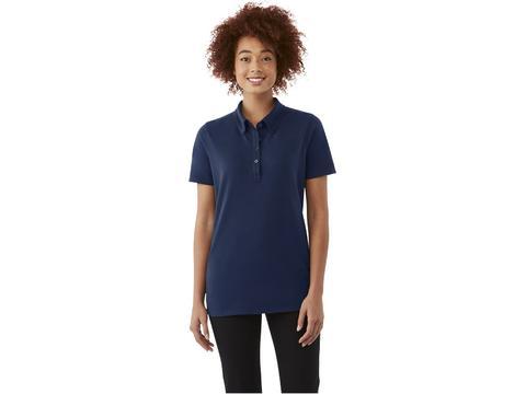 Atkinson short sleeve button-down women's polo