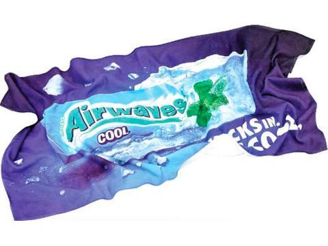 Serviette de bain full colour 80 x 160 cm
