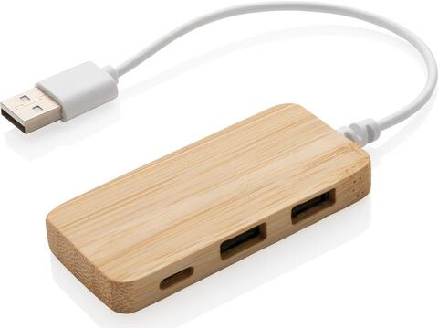 Hub en bambou avec Type C