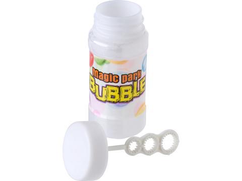 Flacon contenant 55 ml de savon à bulle