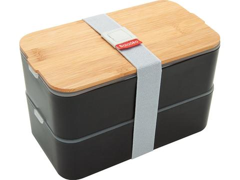 Bento lunchbox with bamboo lid