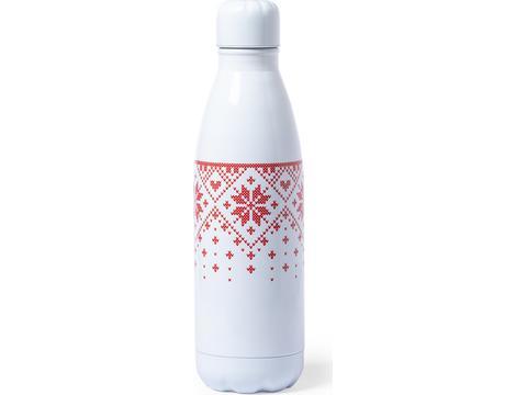 Bicolor Xmas drinkfles - 790 ml