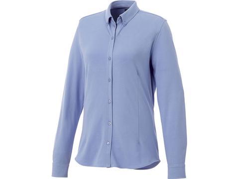 Bigelow long sleeve women's pique shirt