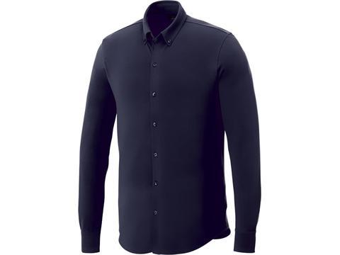 Bigelow piqué heren overhemd