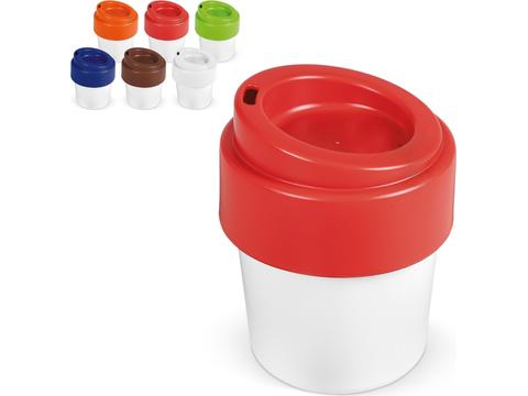 Tasse à café avec couvercle Hot-but-cool - 240 ml